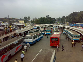 bangalore majestic bus station ( also called Kempegowda Bus Station )