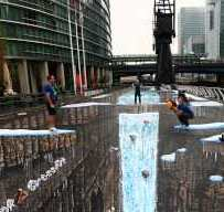 largest 3d street art ever