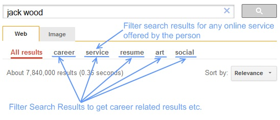 person search tool filters explained/