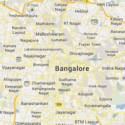 satellite map image of Bangalore( Bangalore,Karnataka ಉಪಗ್ರಹ ನಕ್ಷೆ ಚಿತ್ರ )