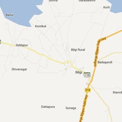 satellite map image of Bilgi( Bilgi,Karnataka ಉಪಗ್ರಹ ನಕ್ಷೆ ಚಿತ್ರ )