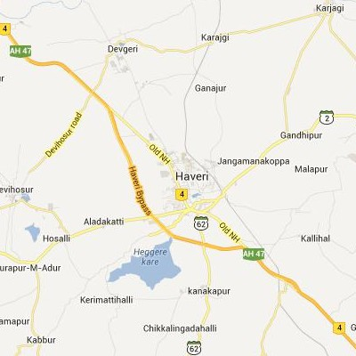 satellite map image of Haveri( Haveri,Karnataka ಉಪಗ್ರಹ ನಕ್ಷೆ ಚಿತ್ರ )