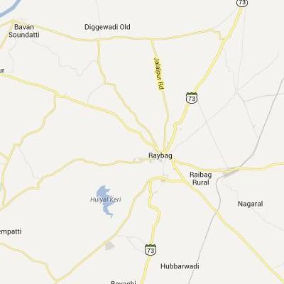 satellite map image of Raybag( Raybag,Karnataka ಉಪಗ್ರಹ ನಕ್ಷೆ ಚಿತ್ರ )