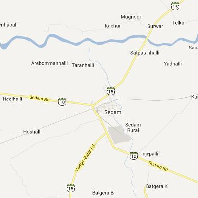 satellite map image of Seram( Seram,Karnataka ಉಪಗ್ರಹ ನಕ್ಷೆ ಚಿತ್ರ )