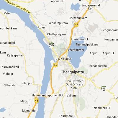 satellite map image of Chengalpattu( Chengalpattu,tamilnadu செயற்கைக்கோள் வரைபடம் படம்)
