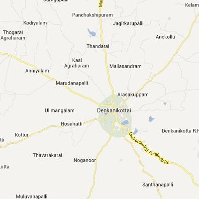 satellite map image of Denkanikota( Denkanikota,tamilnadu செயற்கைக்கோள் வரைபடம் படம்)