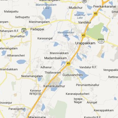 satellite map image of Guduvancheri( Guduvancheri,tamilnadu செயற்கைக்கோள் வரைபடம் படம்)