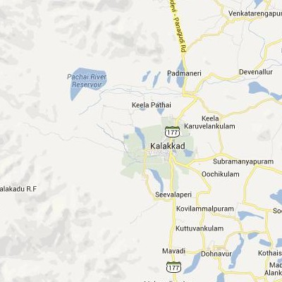 satellite map image of Kalakkadu( Kalakkadu,tamilnadu செயற்கைக்கோள் வரைபடம் படம்)