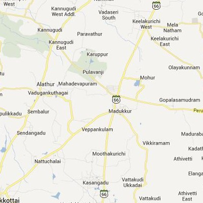 satellite map image of Madukkur( Madukkur,tamilnadu செயற்கைக்கோள் வரைபடம் படம்)