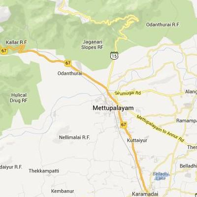 satellite map image of Mettupalayam( Mettupalayam,tamilnadu செயற்கைக்கோள் வரைபடம் படம்)