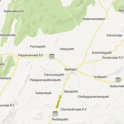 satellite map image of Nattam( Nattam,tamilnadu செயற்கைக்கோள் வரைபடம் படம்)