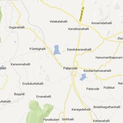 satellite map image of Palakkodu( Palakkodu,tamilnadu செயற்கைக்கோள் வரைபடம் படம்)