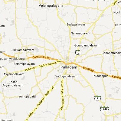 satellite map image of Palladam( Palladam,tamilnadu செயற்கைக்கோள் வரைபடம் படம்)