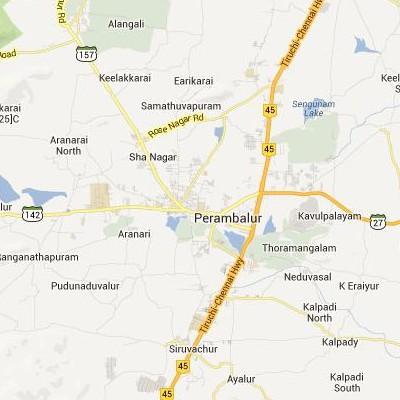 satellite map image of Perambalur( Perambalur,tamilnadu செயற்கைக்கோள் வரைபடம் படம்)