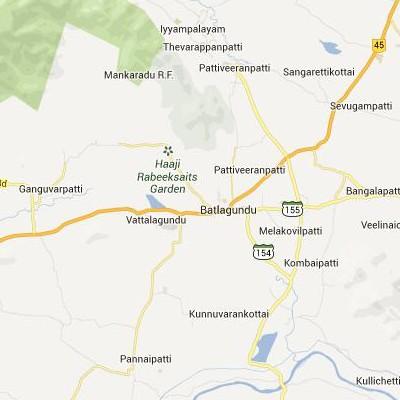 satellite map image of Vattalkundu( Vattalkundu,tamilnadu செயற்கைக்கோள் வரைபடம் படம்)