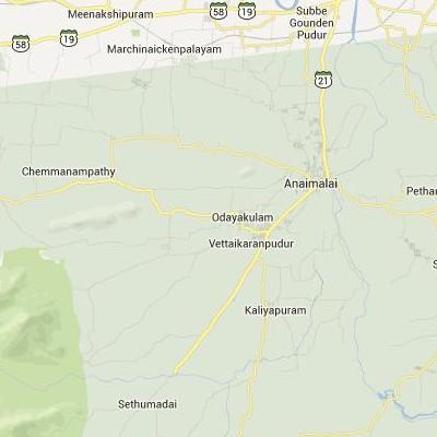 satellite map image of Vettaikkaranpudur( Vettaikkaranpudur,tamilnadu செயற்கைக்கோள் வரைபடம் படம்)